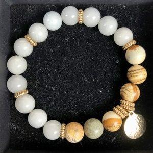 NATURAL ELEMENTS Genuine Stone Bracelet